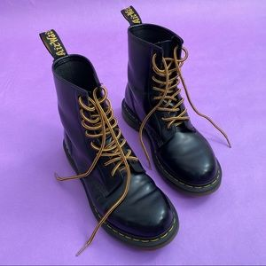 Dr. Martens 1460 Smooth Lace Up Leather Boots